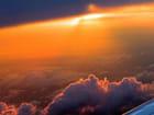 Coucher de soleil vu d'avion - André OUSTRIC