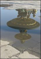 Reflet en miroir, place de la concorde - Yvette GOGUE