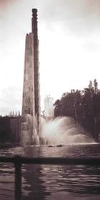 Le signal - fontaine lumineuse - Christian MEUNIER