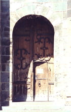 Porte romane - Christian ZICOT