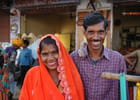 Couples de jeunes indiens - Edith LAURENT