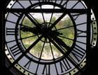 A travers la grande horloge du musée