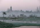 Abbécourt sous la brume