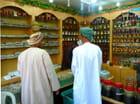 Achat d'encens au souk de Salalah