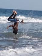 Acrobate de plage