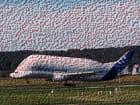 Airbus BELUGA. Composition numérique.