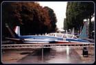 Le Fouga Magister de la patrouille de France expo 1998 : Champs-Elysées.