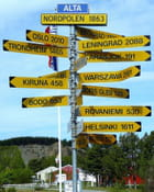 Alta en Norvège