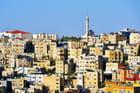 Amman, capitale de la Jordanie.