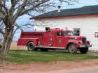 Antique camion de pompiers