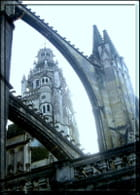 Arc-boutant de la cathédrale Saint-Gatien