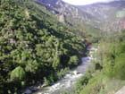 Arc en ciel sur rivière