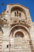 architecture byzantine de Sainte Sophie à Monemvassia