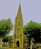 Arès, façade Église