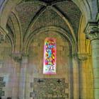 Arès, vitrail Église