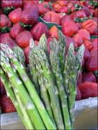 Asperges & fraises