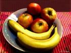Assiette de fruits...