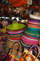 Au marché artisanal