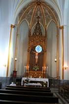 Autel de la chapelle du Christ Saint