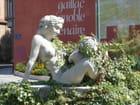 Bacchus enfant et sa mère