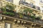Balcon fleuri, Rue La Bruyère
