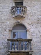Balcons à Pula