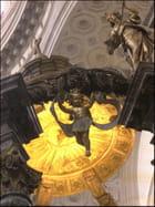 Baldaquin sculpté au Val-de-Grâce