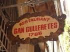 Barcelona, restaurant catalan