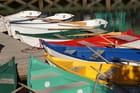 Barques au ponton