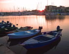 Barques et théatre de Martigues