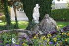 bassin fleuri