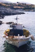 Bateau de pêche à Agios Nikolaos