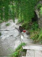 Bavardages sous un  pont
