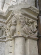 Bestiaire roman (bas-relief)