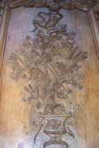 Boiserie de la chapelle des Elus