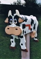 Boite aux lettres vache