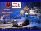 Bonne année 2015 à tous les amis(ies) de la Galerie