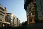 Botosani, Roumanie : centre-ville