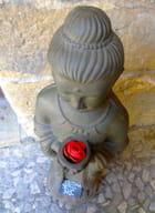 Bouddha à la rose ...