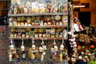 Boutique de produits régionaux à Sienne