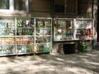 Boutique en sous sol dans les rues de sofia