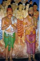 Brahmanes sculptés
