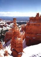 Bryce sous la neige