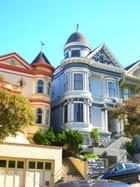 C'est une maison bleue....   San Francisco...
