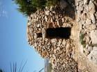 Cabanes de pierre.