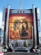 Camion décoré.