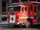 Camion pompiers montréal