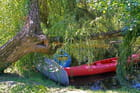 canoes au repos