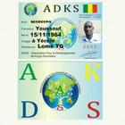 Carte membre de ADKS