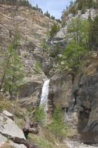 Cascade près du lac d' Allos